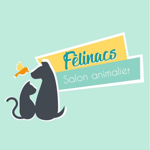 Logo Félinacs - Salon chien, chat et nacs à Nantes