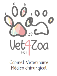 Logo Vet4zoa- Félinacs salon du bien-être animal