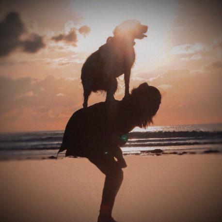 Manon et Kenzo, dog dancing